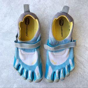 Vibram Five Fingers Bikila Gray Blue Training Shoe
